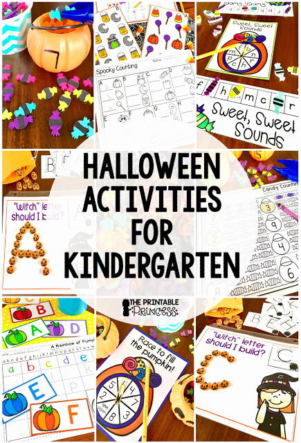 Preschool Halloween Worksheets Free Halloween for Kindergarten Simple Fun and Free