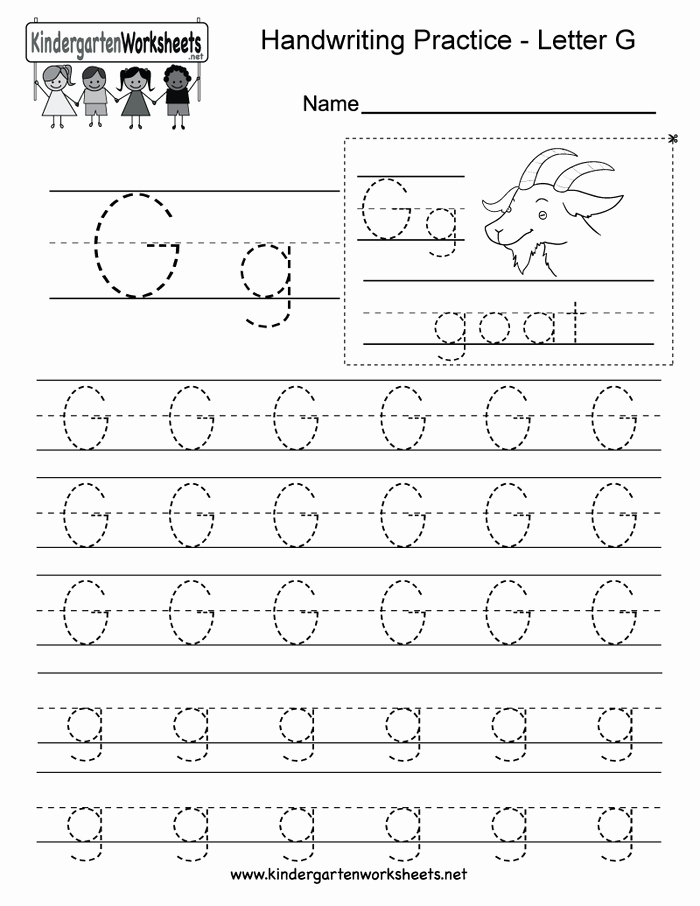 Preschool Letter G Worksheets 2 Free Letter G Alphabet Learning Worksheet for Preschool
