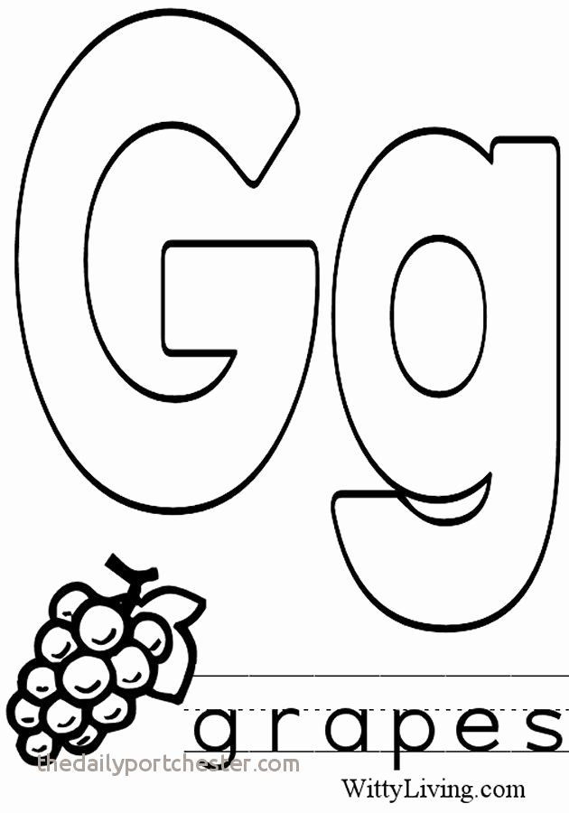 Preschool Letter G Worksheets Letter G Coloring Pages New Letter G Coloring Sheet