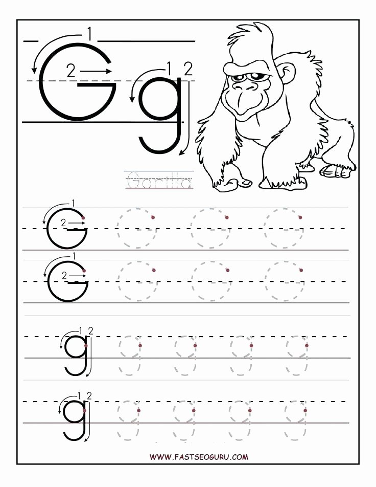 Preschool Letter G Worksheets Printable Letter Worksheets for Kindergarten – Reynoldbot