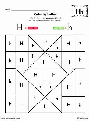 Preschool Letter H Worksheets Alphabet Activity Worksheets for Preschoolers