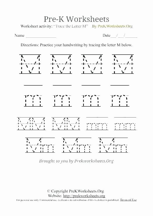 Preschool Letter H Worksheets Letter M Worksheets for Preschoolers Letter M Printable