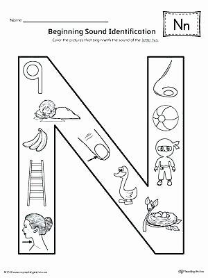Preschool Letter N Worksheets Letter N Worksheets Finding and Connecting Letters Letter N