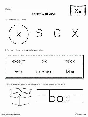 Preschool Letter X Worksheets Letter X Pattern Maze Worksheet W Worksheets Cut and Paste