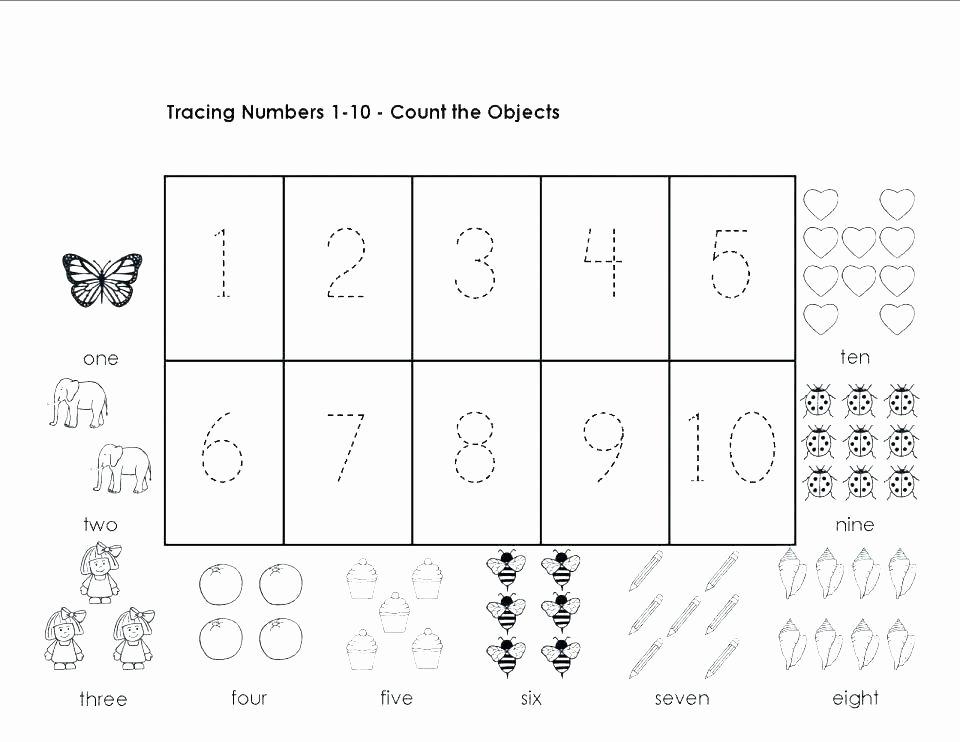 Preschool Math Worksheets Pdf I Worksheets for Kindergarten