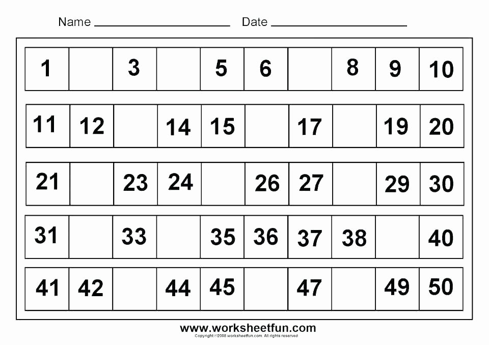 Preschool Number Tracing Beautiful Number 1 to 5 Worksheets Kindergarten Math Tracing Numbers for