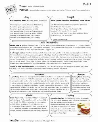 Preschool Palace Curriculum Awesome Lesson Plans Preschool October Pdf