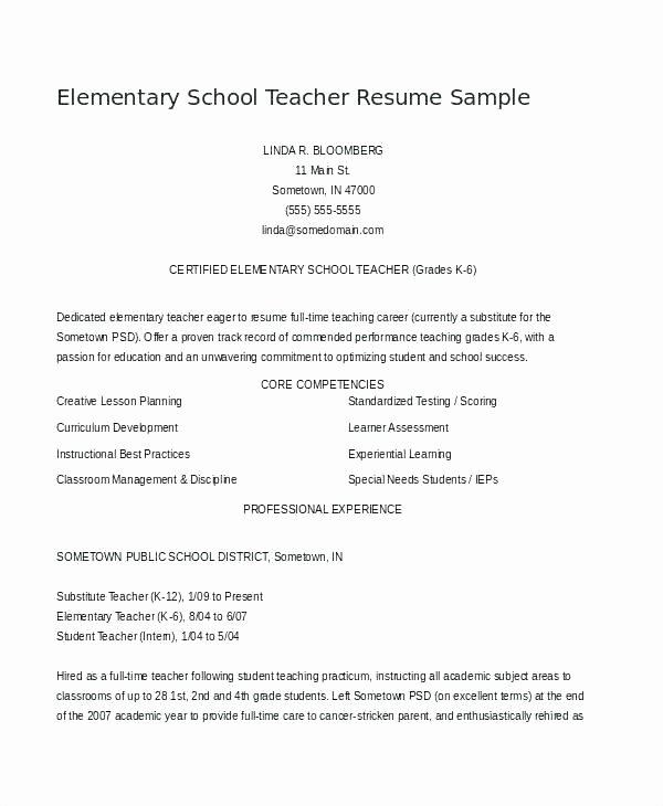 Preschool Palace Curriculum New Curriculum Vitae Template for Teachers Teacher Examples Pic