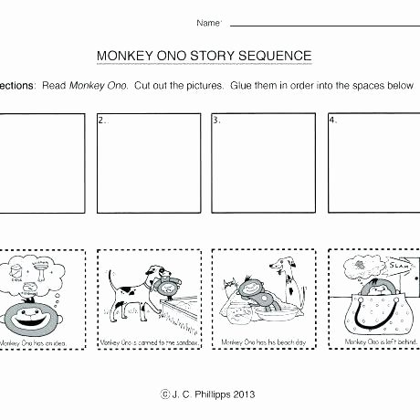 Preschool Sequencing Worksheets Address Worksheets for Kindergarten