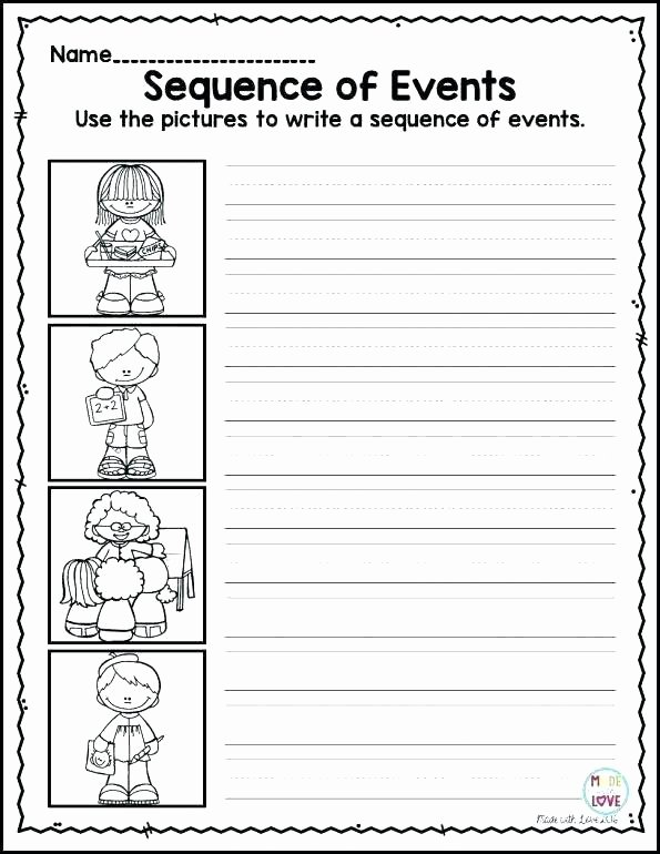 Preschool Sequencing Worksheets Coloring Worksheets 2 Free Word Family Teaching Reading