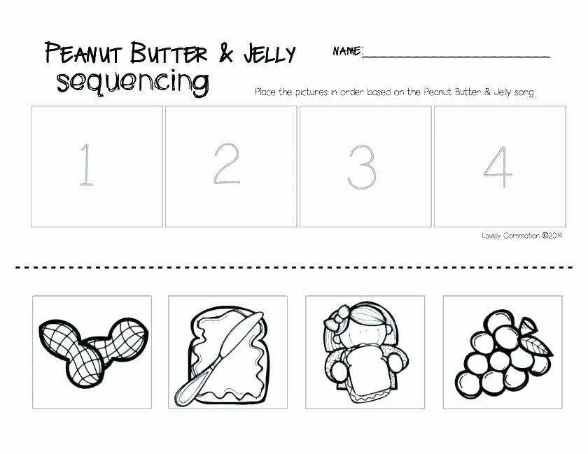 Preschool Sequencing Worksheets Free Reading Sequencing Worksheets First Grade Printable