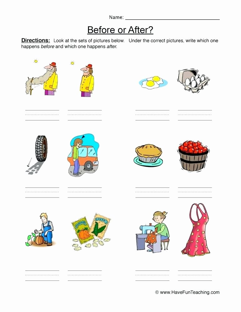 Preschool Sequencing Worksheets Product Categories Sequence Worksheets for Teachers Math
