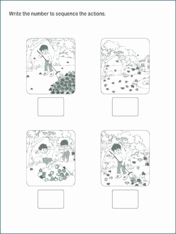 Preschool Sequencing Worksheets Sequence events Worksheets Sequencing Grade 5 Free Cut