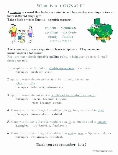 Present Progressive In Spanish Worksheet English to Spanish Translation Worksheets