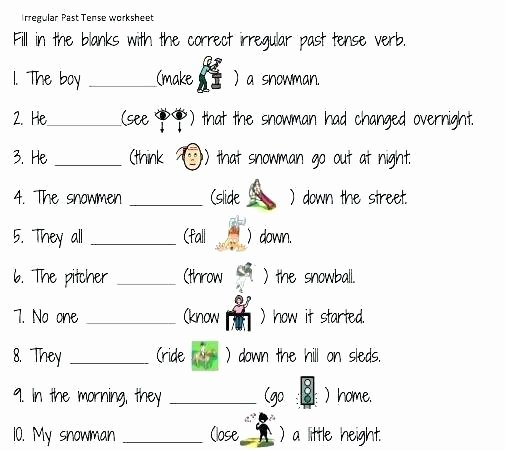 Present Progressive In Spanish Worksheet Simple Past Tense Worksheets Present Continuous Grade 1 for