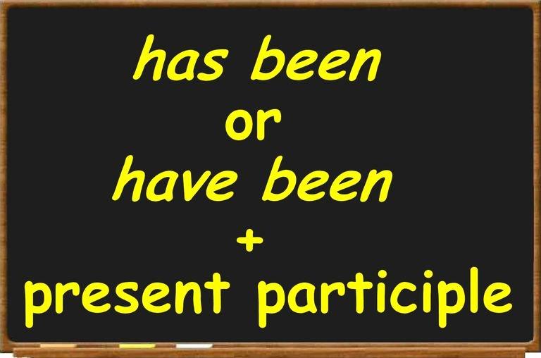 Present Progressive Spanish Worksheets Definition and Examples Of Present Perfect Progressive