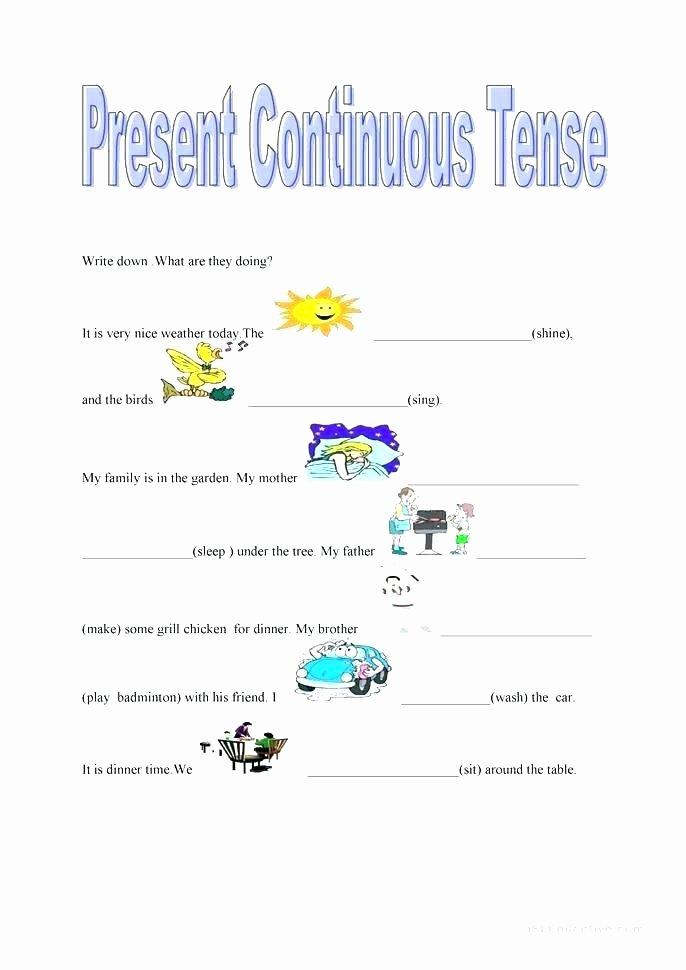 Present Progressive Spanish Worksheets Spanish for Beginners Worksheets Teaching Notes In Pdf
