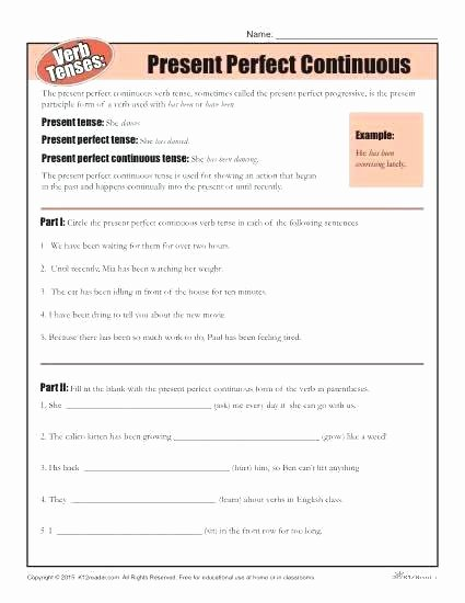 Present Progressive Worksheet Helping Verbs Worksheet Auxiliary Have and Has Had