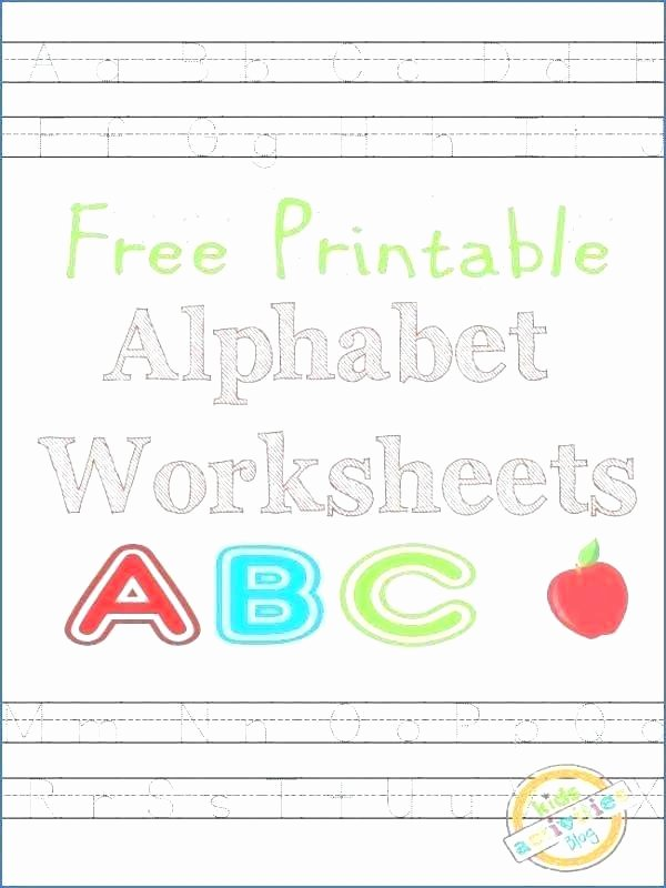 Printable Abc order Worksheets Free Cut and Paste Alphabet Worksheets