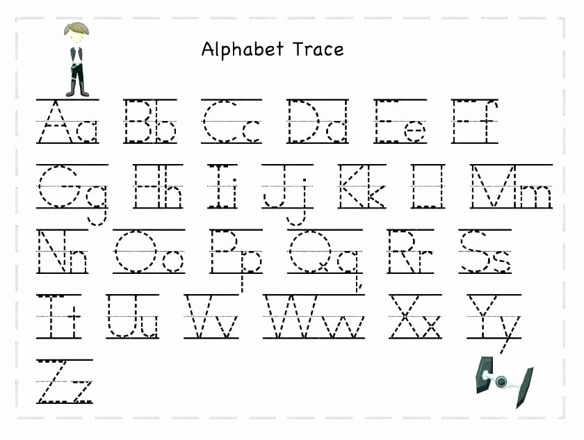 Printable Abc order Worksheets Free Printable Alphabet Letter Tracing Worksheets