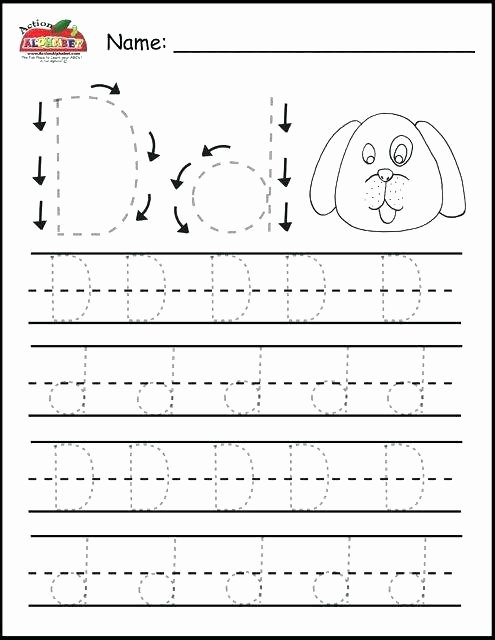 Printable Abc order Worksheets Practice Worksheets Practice Worksheets Kindergarten Tracing