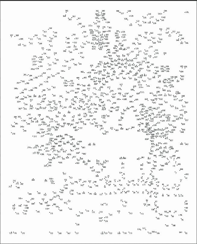 Printable Adult Connect the Dots Dot to Dot Free Worksheets – Ufprame