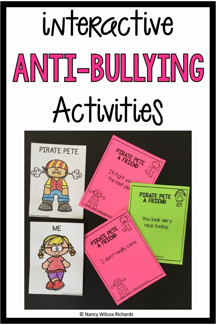 Printable Bullying Worksheets Anti Bullying Activities Anti Bullying Posters