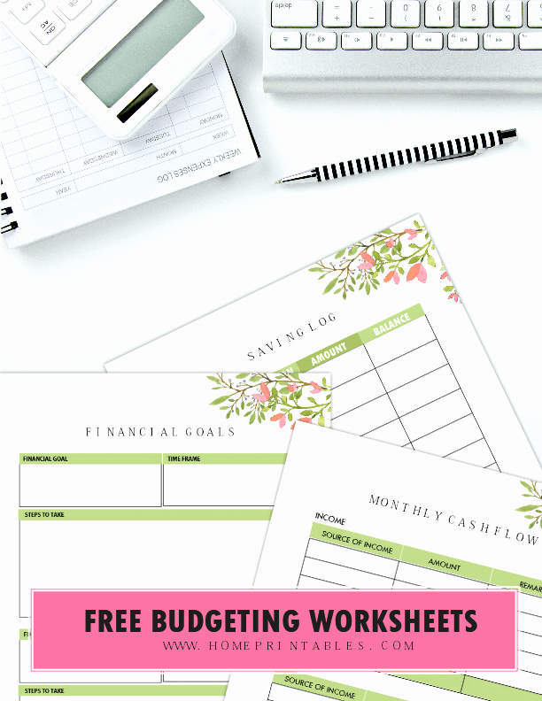 Printable Computer Worksheets 100 Free Bud Templates for Financial Success