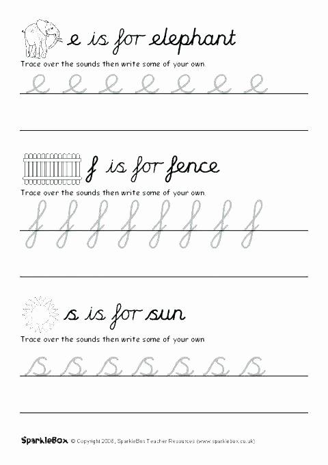 Printable Cursive Alphabet Chart Cursive Writing Chart Printable Worksheets