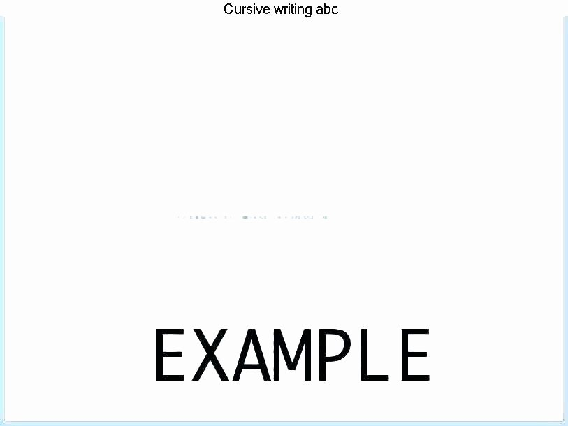 Printable Cursive Writing Worksheets Pdf Cursive Handwriting Worksheets for Kids