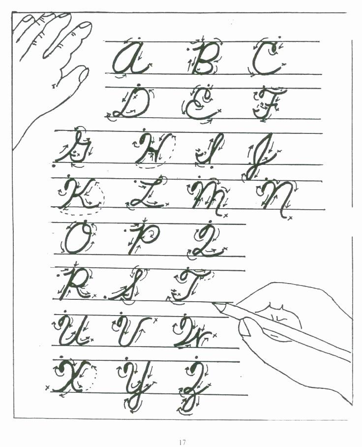 Printable Cursive Writing Worksheets Pdf Cursive Writing Worksheets Free Printable Practice for