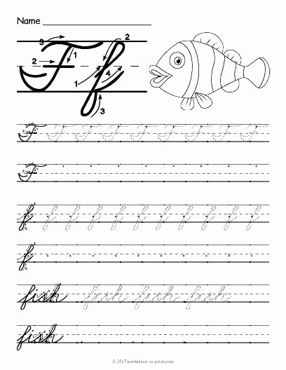 Printable Cursive Writing Worksheets Pdf Free Printable Cursive Alphabet Handwriting Worksheets