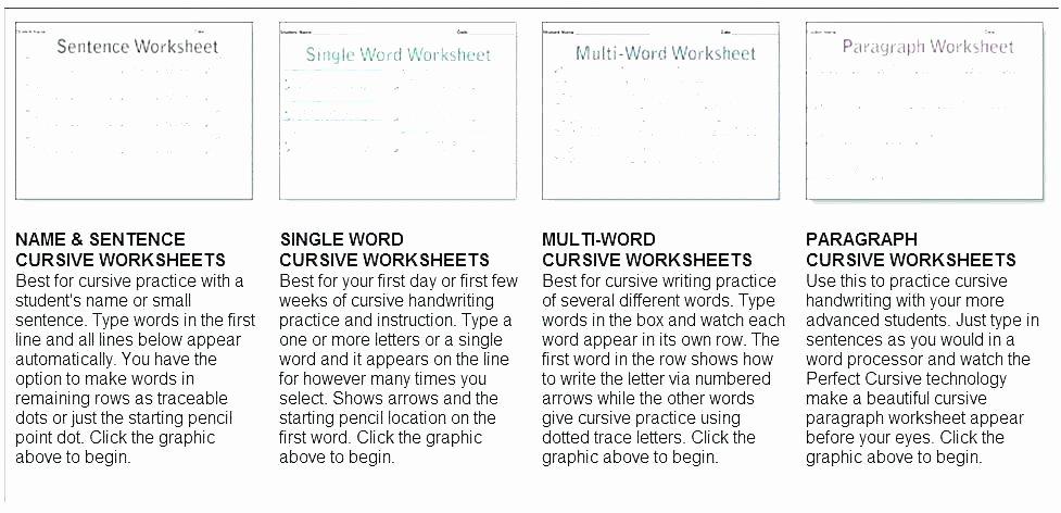 Printable Cursive Writing Worksheets Pdf Free Printable Cursive Alphabet Handwriting Worksheets