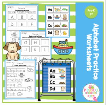 Printable Cutting Worksheets for Preschoolers Alphabet Practice Worksheets