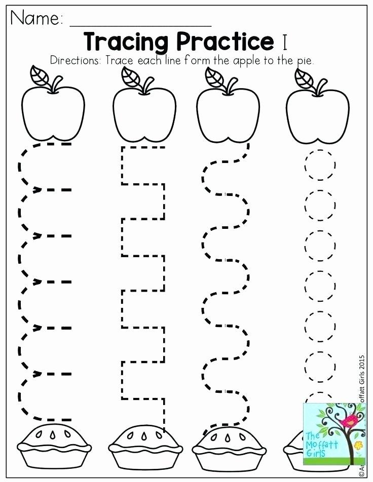 Printable Cutting Worksheets for Preschoolers Back to School Worksheets Pdf