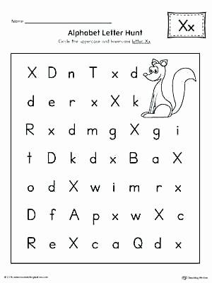 Printable Cutting Worksheets for Preschoolers Free Worksheets Uppercase Letter X Color by Worksheet