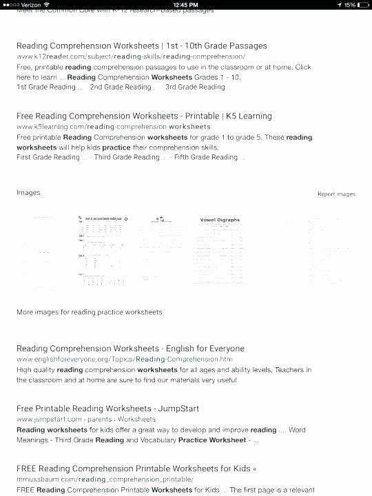 Printable First Grade Reading Worksheets Free Second Grade Reading Prehension Worksheets
