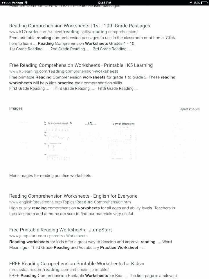 Printable First Grade Reading Worksheets Printable Reading Prehension Worksheets