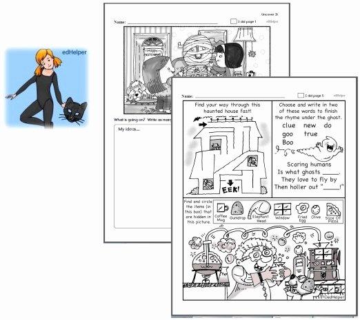 Printable Following Directions Worksheet Free Halloween Worksheets