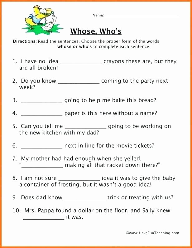 Printable Homophone Worksheets Homophones Worksheet Choose the Correct Homophone Worksheets