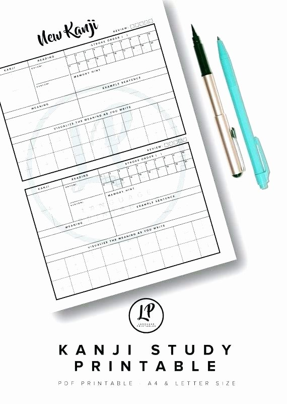 Printable Kanji Practice Sheets Kindergarten Language Worksheet Printable Teach Kumon