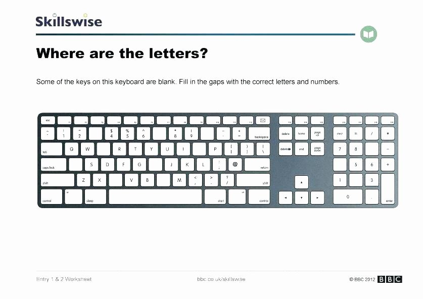 Printable Keyboarding Worksheets Awesome Printable Puter Worksheets – Sunriseengineers