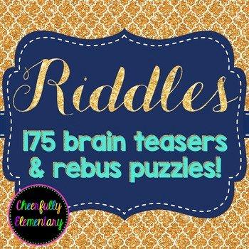 Printable Rebus Brain Teasers Rebus Brain Teasers Worksheets & Teaching Resources