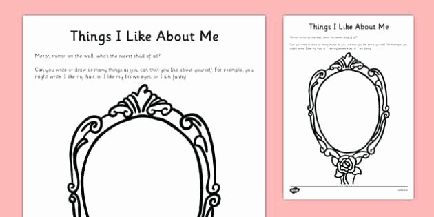 Printable Self Esteem Worksheets All About Me Preschool Activities Worksheet Free Worksheets