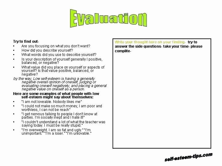 Printable Self Esteem Worksheets Self Esteem Bingo Activities Activity Worksheets Counseling