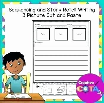 Printable Sequence Worksheets 48 Sequencing for Kindergarten