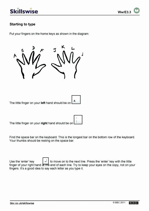 Printable Typing Worksheets Elegant Free Printable Puter Keyboarding Worksheets – Mabjobbankfo
