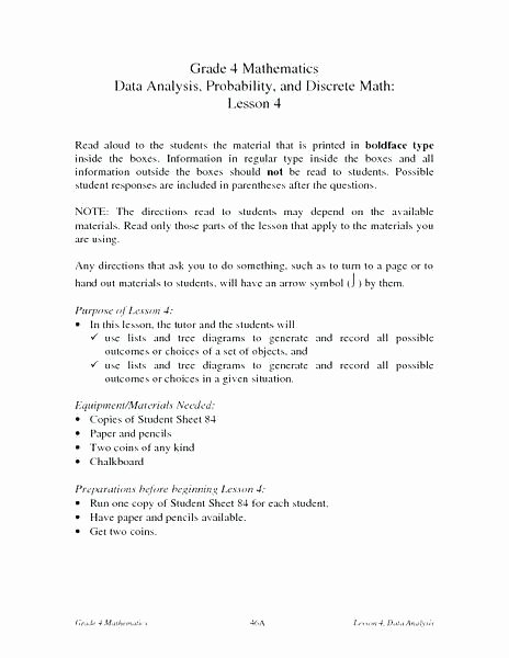 Probability Worksheet 5th Grade 5th Grade Probability Worksheets
