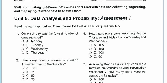 Probability Worksheets with Answers Pdf Lovely Mixed Review Math Worksheets