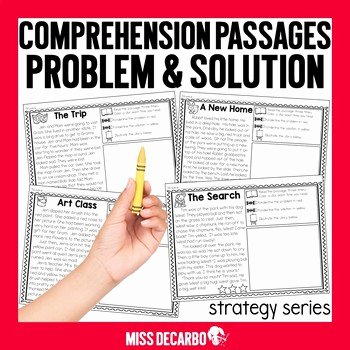 Problem and solution Reading Worksheets Luxury Problem and solution Reading Passages